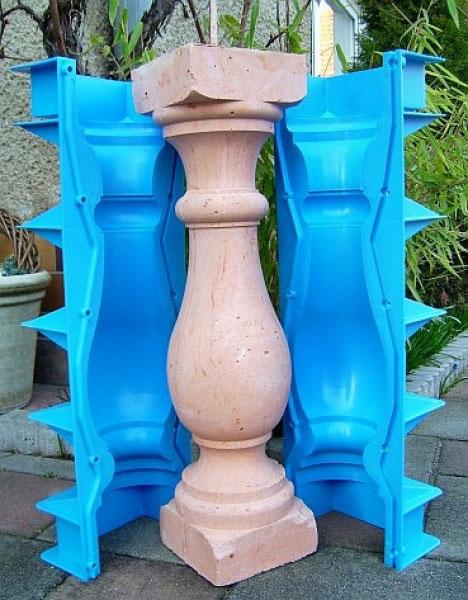Формы балясин купить из бетона печатные штампы для бетона купить