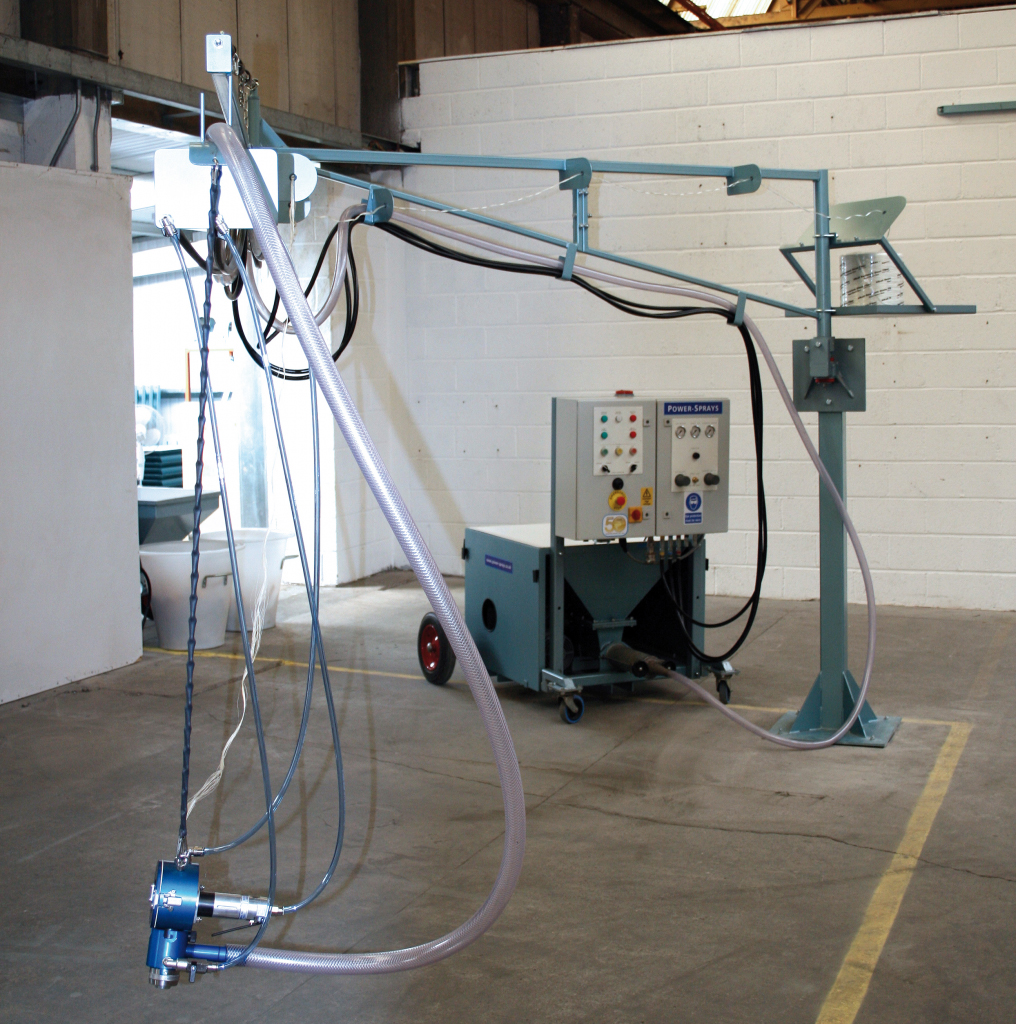 Mortar pump station  PS9000B Floor Mounted